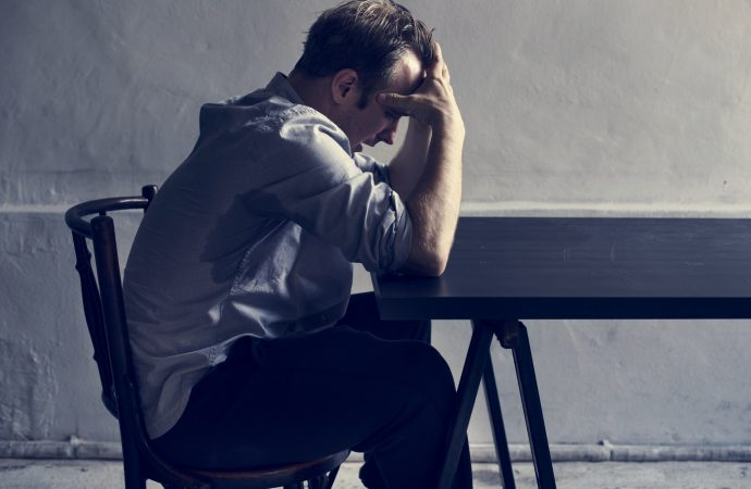 Depression in men may not look exactly the same as in women