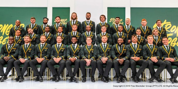The Squad representing SA in the 2019 Rugby World Cup
